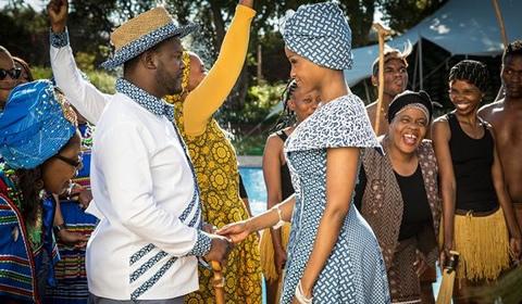 Lerato And Sechaba's Isidingo Wedding