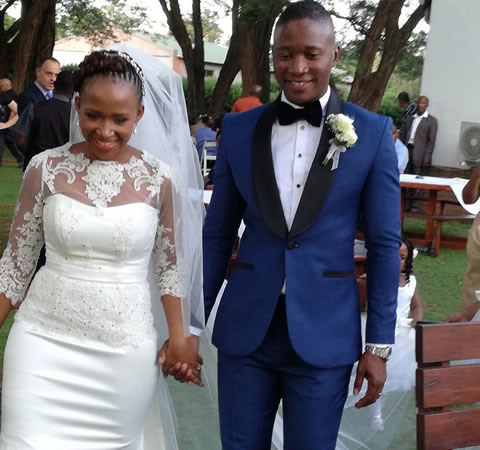 Walter Mokoena And Nosizwe Vuso's Wedding