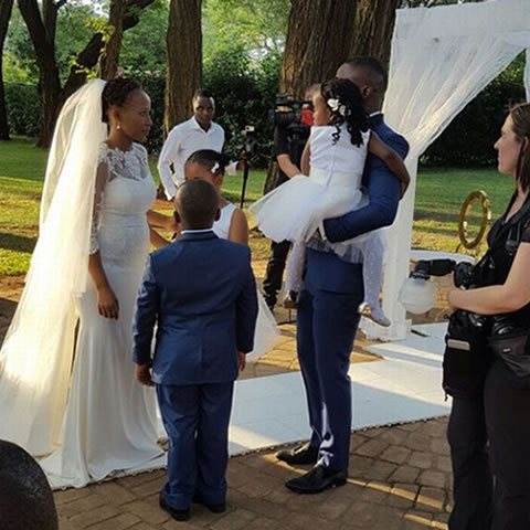 Walter Mokoena And Nosizwe Vuso's Wedding In Photos
