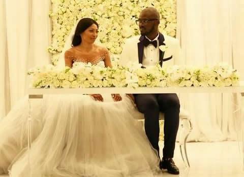 Black Coffee And Mbali Mlotshwa Wedding