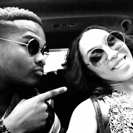 Dumi Masilela and Simphiwe Ngema