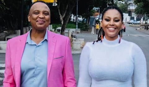 Letoya Makhene is dating Lebo Keswa