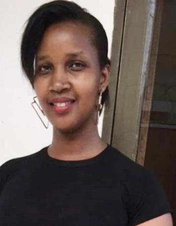 Sheila Gashumba's mother Tinah Mukuza