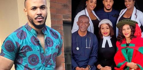Big Brother Naija 2020 housemate, Ozo Ozoemena Chukwu's family members