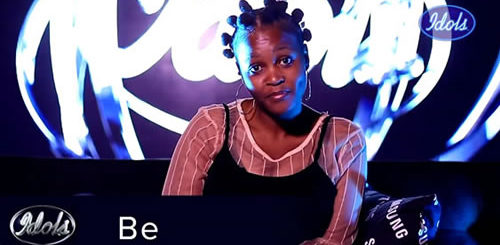 Be Mohutsioa Idols SA 2020 'Season 16' Top 16 Contestant