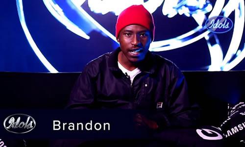 Brandon Dhludhlu Idols SA 2020 'Season 16' Top 16 Contestant