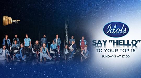 Idols SA 2020 'Season 16' Top 16 Contestants