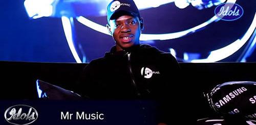 Bruce Mr Music Idols SA 2020 'Season 16' Top 16 Contestant