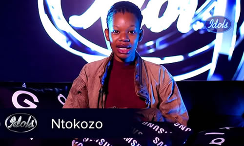 Ntokozo Mvelase Idols SA 2020 'Season 16' Top 16 Contestant