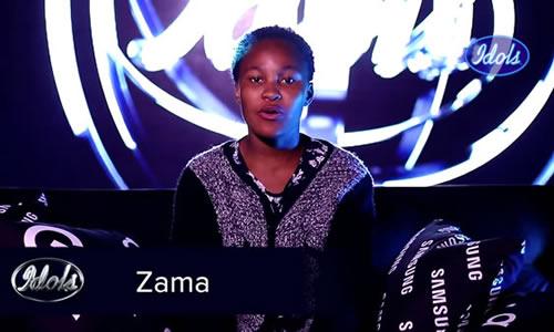 Zama Khumalo Idols SA 2020 'Season 16' Top 16 Contestant